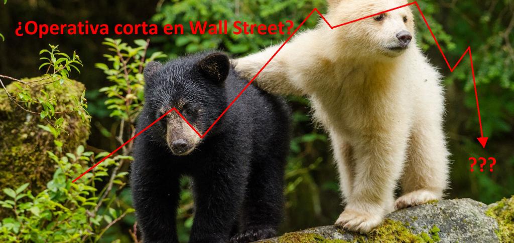 ¿Operativa corta en Wall Street?