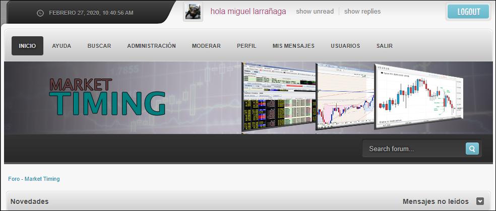 Foro de Market Timing